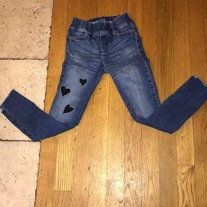 Girls size 8 GAP jeans.